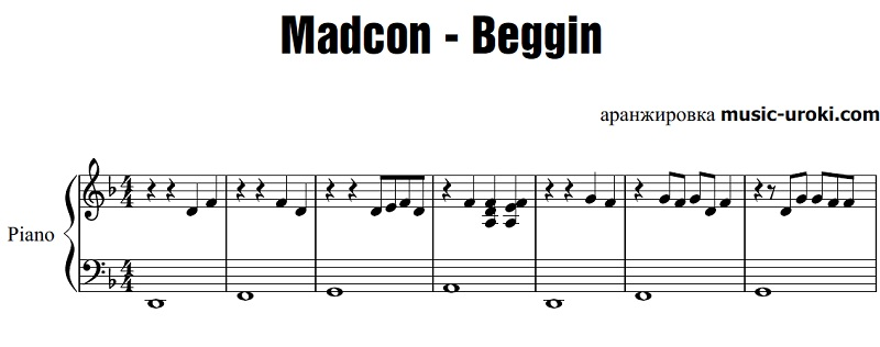 Beggin madcon скачать песню