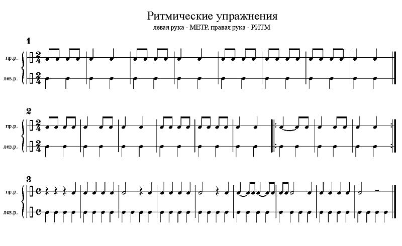 Урок фортепиано на хоровом отделении - 02207